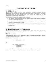 Chapter 06-Control Structures.doc