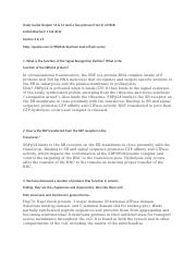 Biochemistry Study Guide 3 Chapter 13