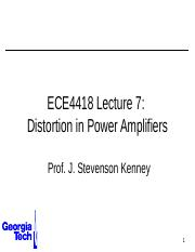 ECE4418+Lecture+7+-+Distortion+in+PAs.pptx