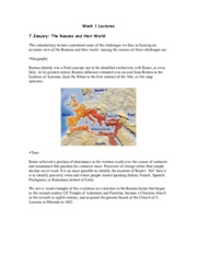 Notes-Geography & History