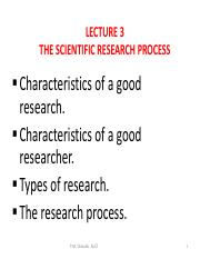characteristics of a good research