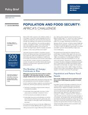 population-food-security-africa