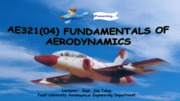 Fundamental Aerody - Basic Aerodynamic Principles 1