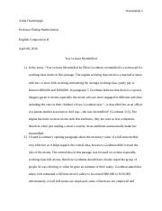 writing assignment () (Autosaved)