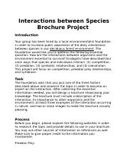 Species Interactions Project.docx
