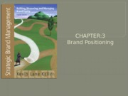 Chapter 3 Brand Positioning (1)