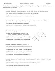 m185 practice problems for exam 4 Spring 2017.pdf