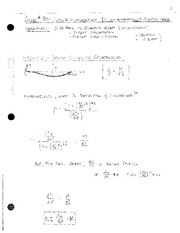 Class 30 - Beam Displacement - Integration and Moment Area Method