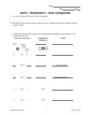 U6 Worksheet 4