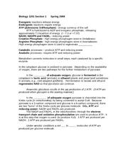 biol1201 t2Respiration