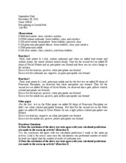 The rate and order of a chemical reaction lab report answers | MyCar ...