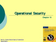 Ch10 - Operational Security