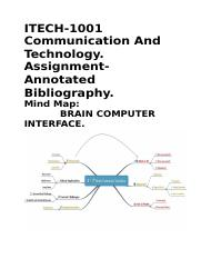 Assignment Annotated Bibliography