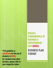 134911_Business Plan Guideline