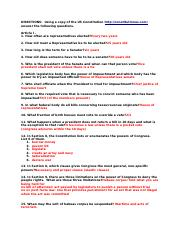 Constitution Scavenger Hunt - Takhia W .docx - DIRECTIONS ...