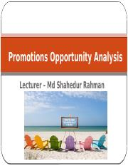 Chapter 4 - Promotions Opportunity Analysis.pptx