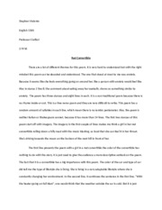long ass essay on a bitchass poem