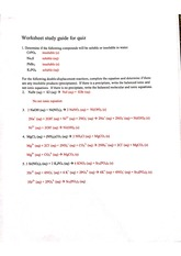Study guide for Quiz 1