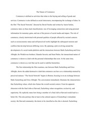 Cycle Two Sample Essay (Social Network)