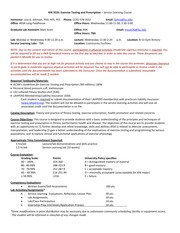 kin 481 syllabus Summary: this new course proposal seeks to add a course to the school of biological and population health sciences cip number 310505 has been added to the proposal banner was checked for this course number (481) to confirm the course number has not been used in the last 6 years.