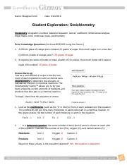 Bestseller: Answer Key For Student Exploration ...