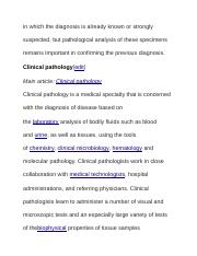 in which the diagnosis is already known or strongly suspected.docx