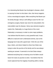 Essay on Huntington's Disease