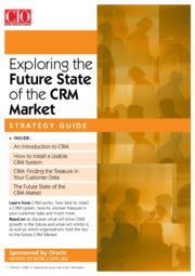 Oracle_Future_State of the CRM market