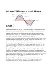 Phase Difference and Phase Shift.docx