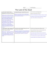 Cole Simpson - Land of the Dead Worksheet.docx