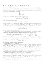 Lecture 24 on Laplace Equation I