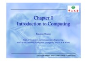 Chapter 0 Introduction to computing (1)