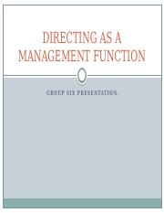 DIRECTING AS A MANAGEMENT FUNCTION.pptx