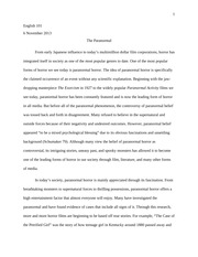 notes on cohen s monster theory thesis i the monster s body is a  6 pages monster theory essay writing assignment 2