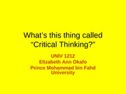 W1-c-what is critical thinking