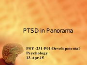 DevelopmentalPsych_PTSD Presentation