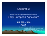 Topic 2 Part 1-Early European Agriculture