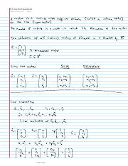 1.3 Vector Equations