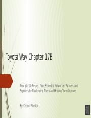 Cedrick_Toyota Way Chapter 17B.pptx