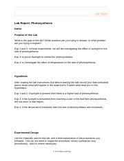 PhotosynthesisLabReport (1).doc
