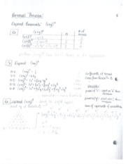 PMATH30 Binomial Theorem Solutions explained