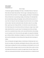 outline essay my life in a bag tiffany williams communication  2 pages response paper critique on movie