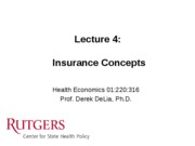 LECTURE+4+-+Insurance+concepts