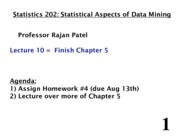 Stats 202 - Lecture 10