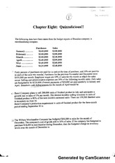 Chapter 8 quizzes