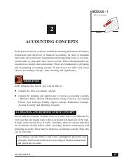 Accounting conventions and standards