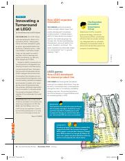 2015 ___ Part two _____HBR_ Innovating a Turnaround at Lego.pdf