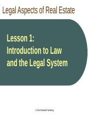 CA Law Lesson 1 PPT.ppt
