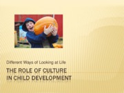 The+Role+of+Culture+in+Child+Development-1
