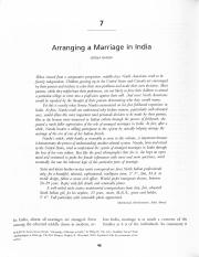 arranging marriage india Love marriage ya arranged marriage  in which she sells everything in regards to marriage like utilities, arranging  a marriage in india is.